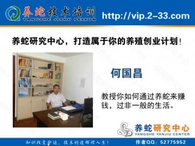养蛇研究中心免费养蛇技术课程 (1238播放)